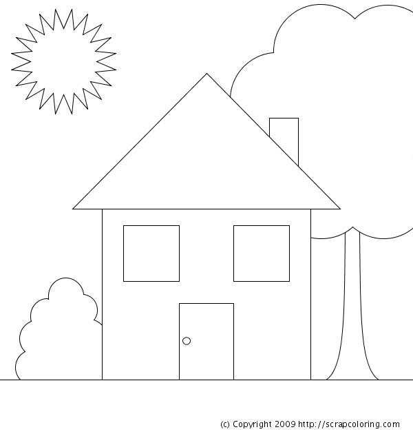 Coloriage et dessins gratuits Maisons 10 à imprimer