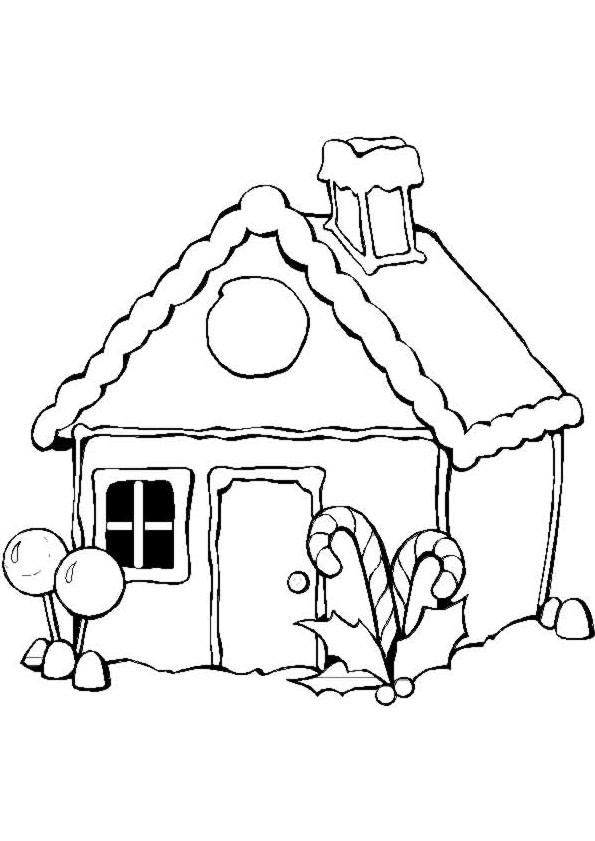 Coloriage et dessins gratuits Maisons 12 à imprimer