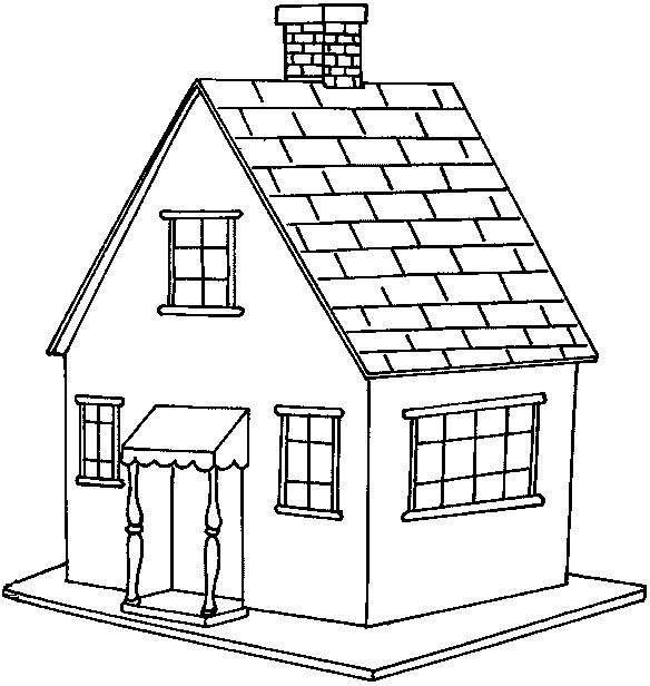 Coloriage et dessins gratuits Maisons 14 à imprimer