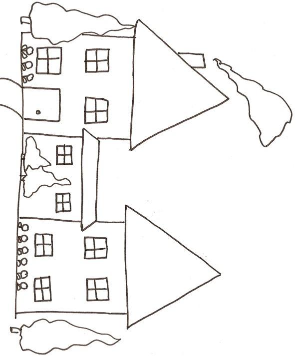 Coloriage et dessins gratuits Maisons 17 à imprimer