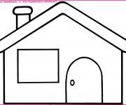 Coloriage Maisons 2