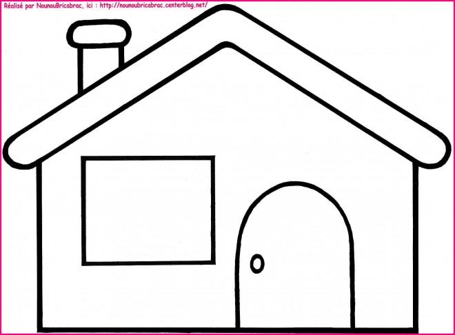 Coloriage et dessins gratuits Maisons 2 à imprimer