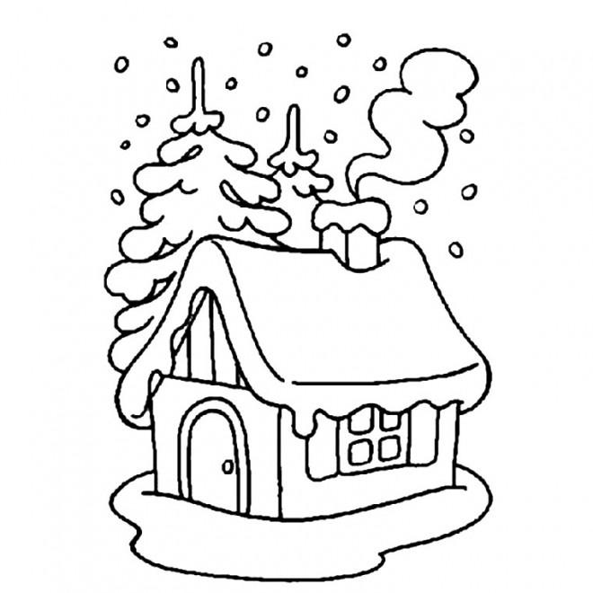 Coloriage et dessins gratuits Maisons 24 à imprimer