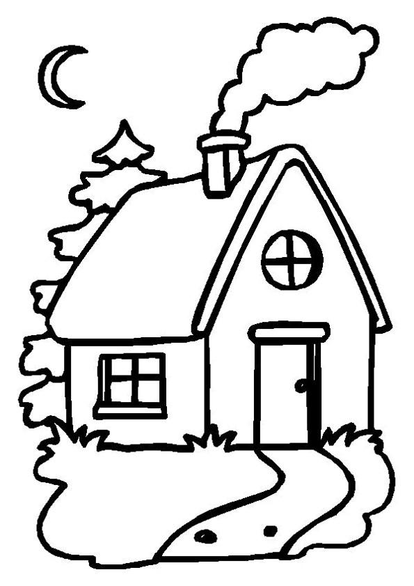 Coloriage et dessins gratuits Maisons 28 à imprimer
