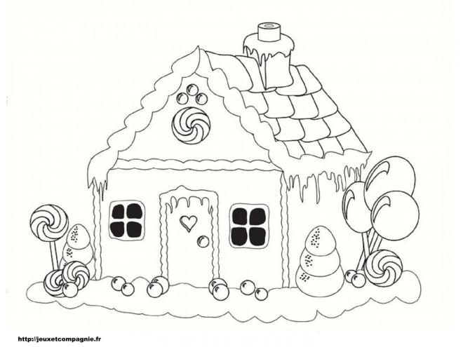 Coloriage et dessins gratuits Maisons 3 à imprimer