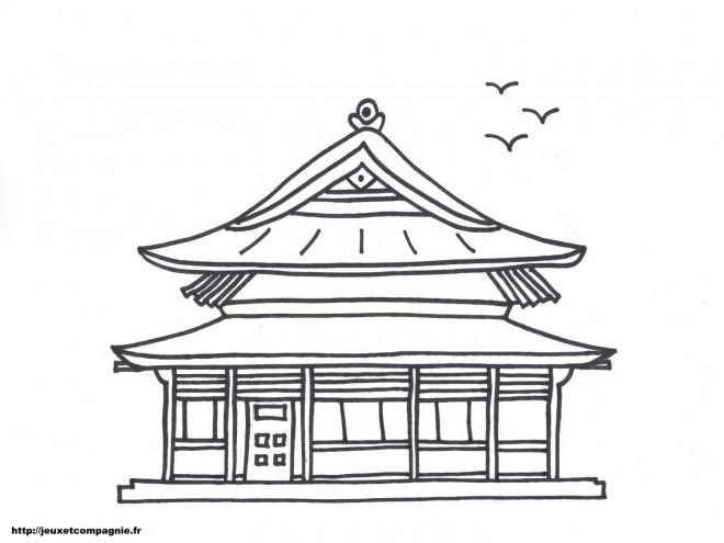 Coloriage et dessins gratuits Maisons 33 à imprimer