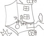Coloriage Maisons 37