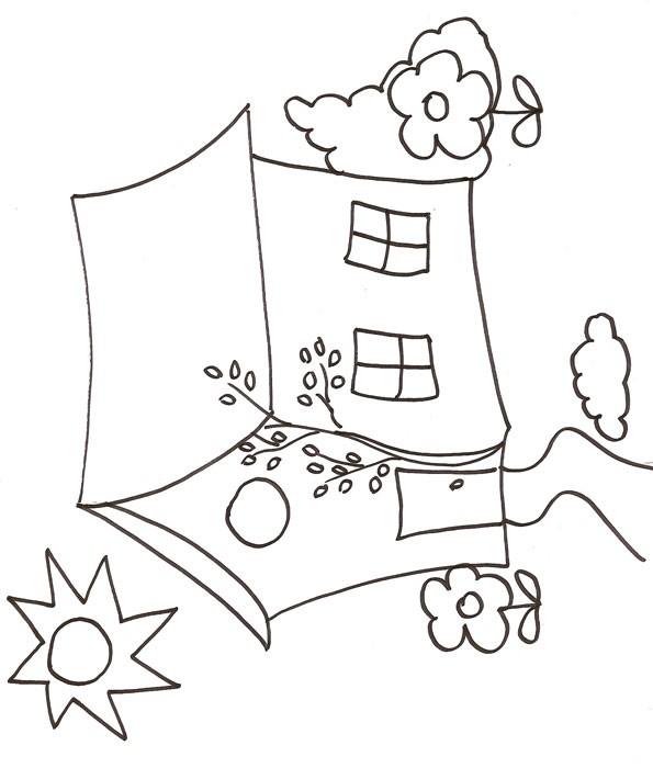 Coloriage et dessins gratuits Maisons 37 à imprimer
