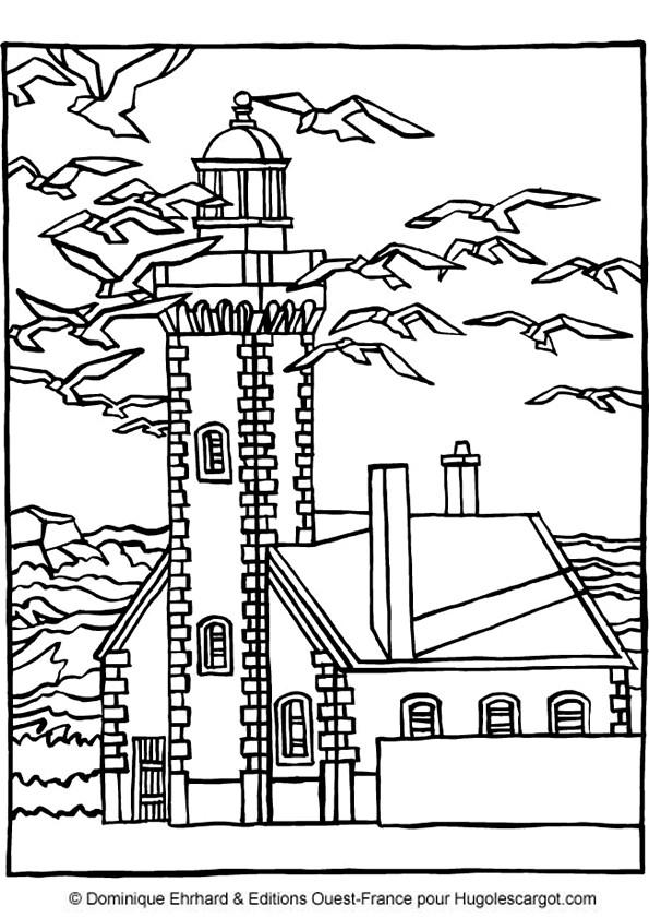 Coloriage et dessins gratuits Maisons 40 à imprimer