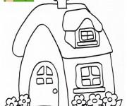 Coloriage Maisons 41