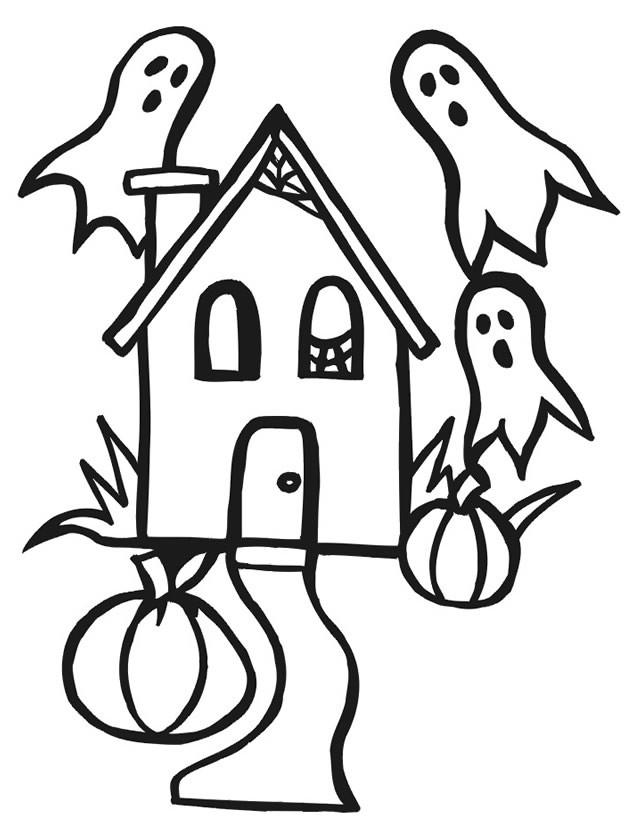 Coloriage et dessins gratuits Maisons 42 à imprimer