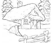 Coloriage Maisons 44
