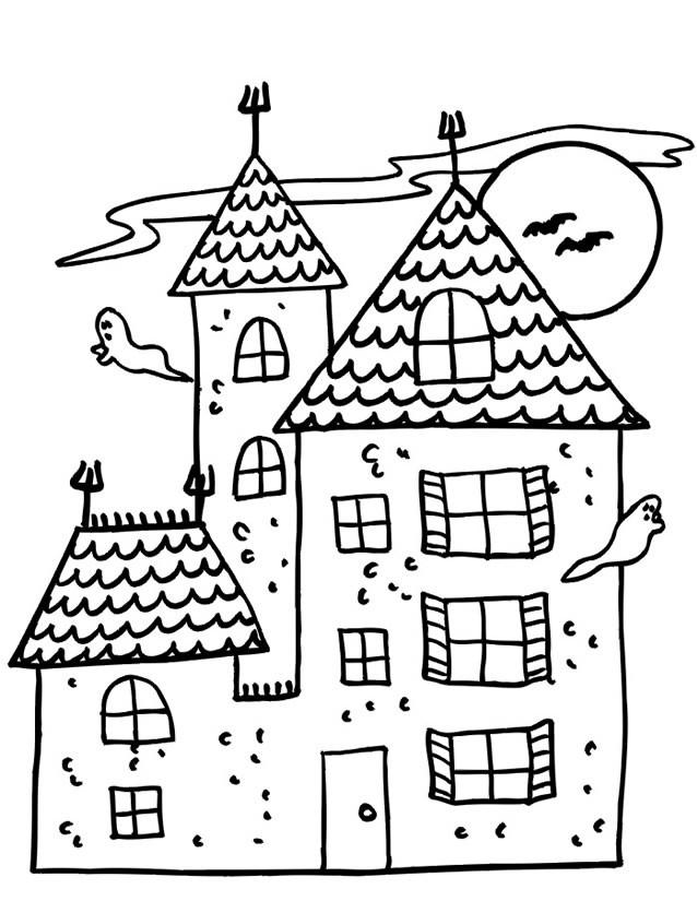 Coloriage et dessins gratuits Maisons 47 à imprimer