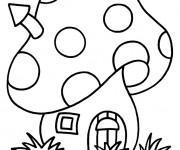 Coloriage Maisons 48