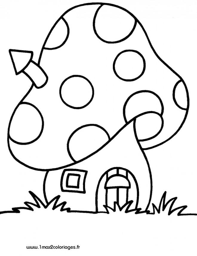 Coloriage et dessins gratuits Maisons 48 à imprimer