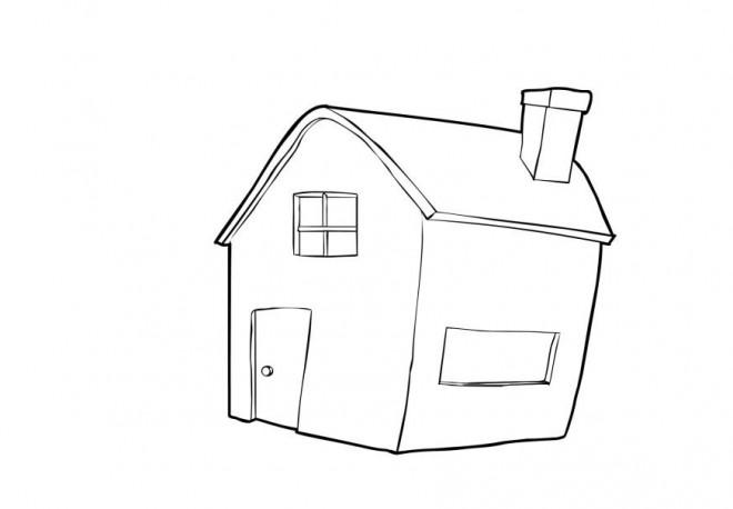 Coloriage et dessins gratuits Maisons 49 à imprimer