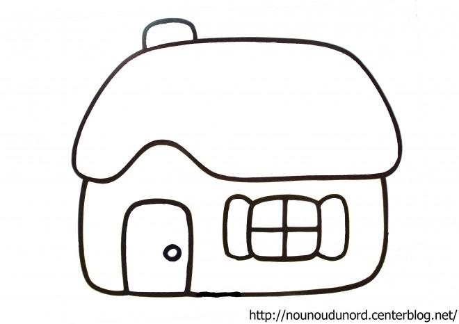 Coloriage et dessins gratuits Maisons 5 à imprimer