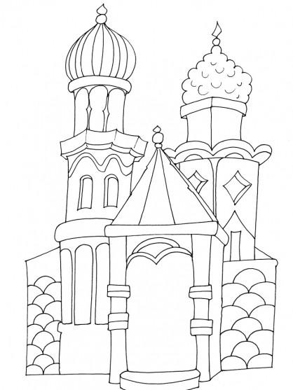 Coloriage et dessins gratuits Maisons 55 à imprimer