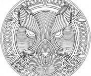 Dessiner en ligne vos coloriages préférés de Mandala Animaux