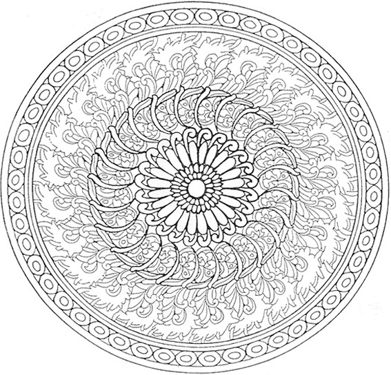 coloriage mandala difficile couleur dessin gratuit imprimer. Black Bedroom Furniture Sets. Home Design Ideas