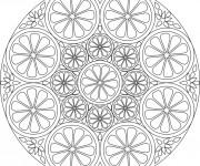Coloriage et dessins gratuit Ciron Mandala à imprimer