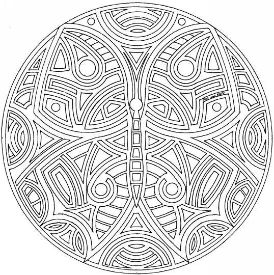 Coloriage et dessins gratuits Mandala Art à imprimer