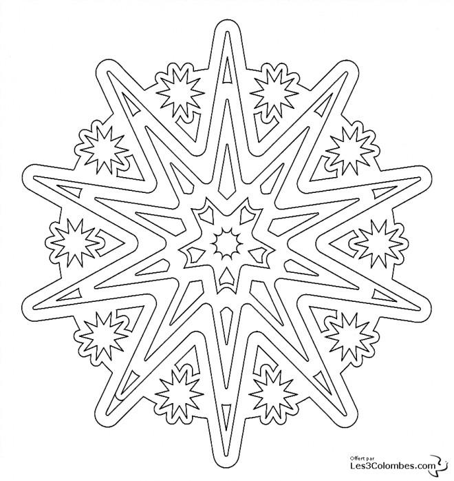 Coloriage et dessins gratuits Mandala en ligne pour Les Grands à imprimer