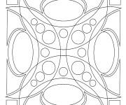 Coloriage Mandala 3D En Ligne