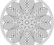 Coloriage Mandala Coeurs En Ligne
