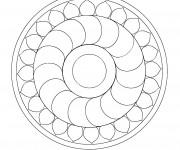 Coloriage Mandala En Ligne à décorer