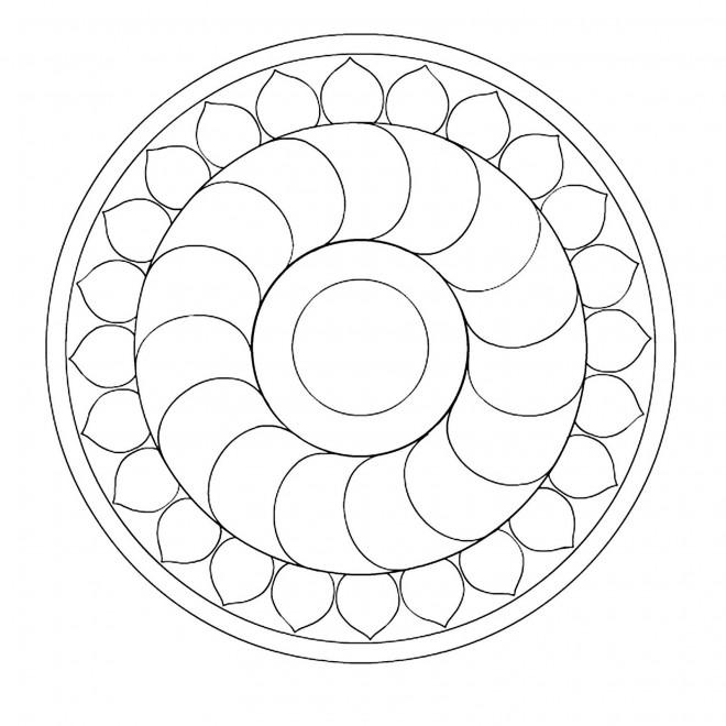 Coloriage Mandala En Ligne A Decorer