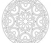 Coloriage Mandala En Ligne à télécharger