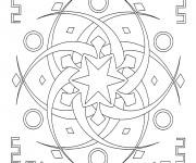 Coloriage Mandala En Ligne pour Adulte