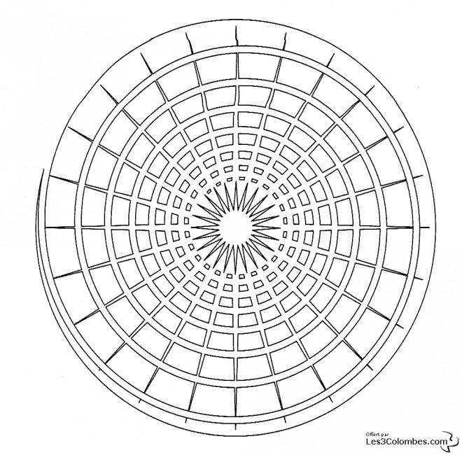 Coloriage mandala lumi re en ligne dessin gratuit imprimer - Mandala coloriage en ligne ...