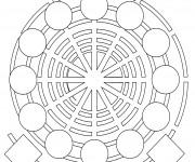 Coloriage Mandala Spirale En Ligne