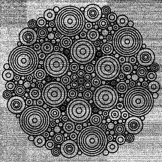 Coloriage et dessins gratuits Mandala difficile en noir à imprimer