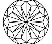 Coloriage Mandala pour téléchargement