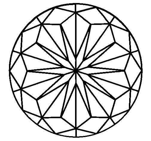 Coloriage et dessins gratuits Mandala pour téléchargement à imprimer