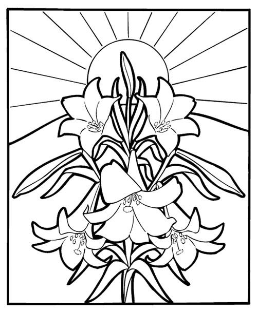 Coloriage et dessins gratuits Mandala Fleurs vectoriel à imprimer