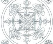 Coloriage dessin  Flocon de Neige 44