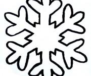Coloriage mandala flocon gratuit imprimer - Dessin flocon de neige facile ...