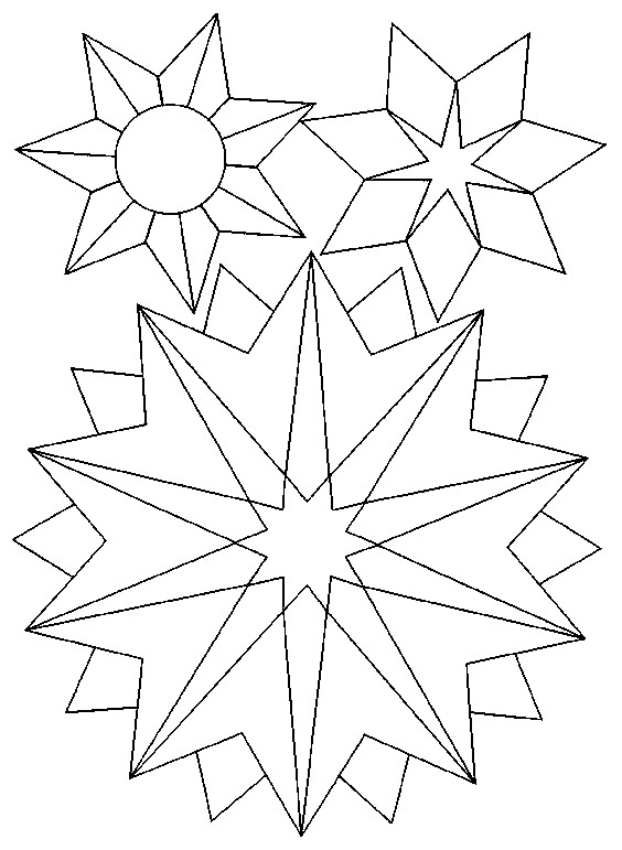 Coloriage mandala flocon en ligne dessin gratuit imprimer - Dessin etoile des neiges ...