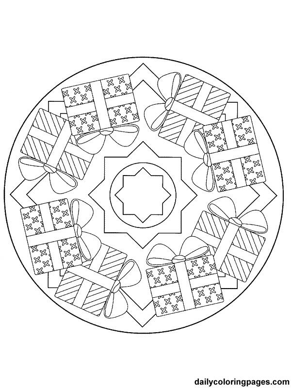 Coloriage Mandala Noel En Ligne.Coloriage Mandala Noel En Ligne Dessin Gratuit A Imprimer