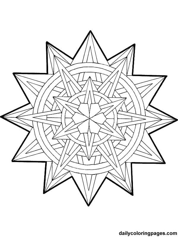 Coloriage Mandala Noel En Vecteur Dessin Gratuit A Imprimer