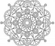 Coloriage Mandala Soleil 18