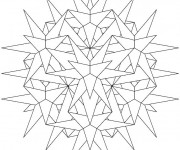 Coloriage Mandala Soleil 25