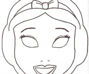 Coloriage dessin  Masque 13