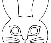 Coloriage dessin  Masque 4