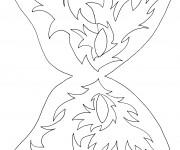 Coloriage dessin  Masque 8