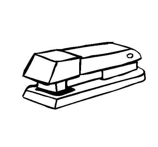 Coloriage et dessins gratuits Agrafeuse Scolaire à imprimer